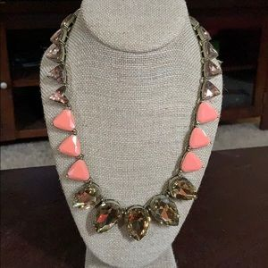 Chloe & Isabel coral/pink statement necklace